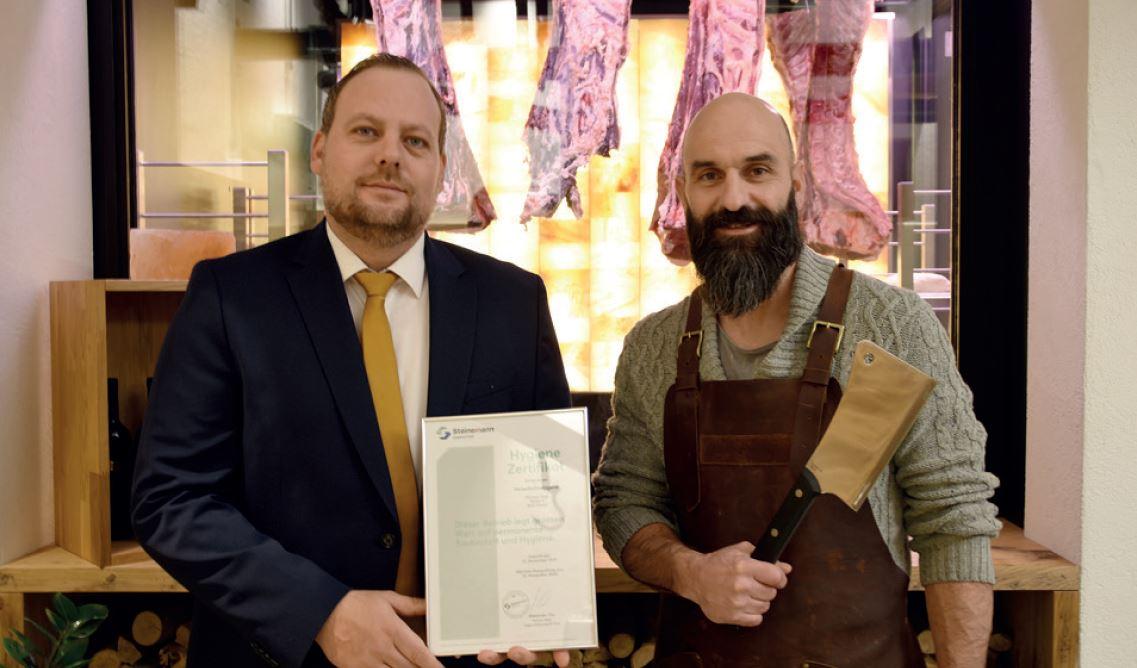 buchter shop steinemann disinfection hygiene certification